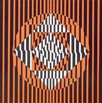 matilde-perez Op Art, Chile, Texture, Abstract, Crafts, Painting, Magic, Design, Color