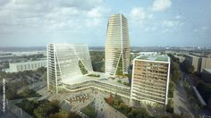 'THE:SQUARE³' Mixed-Use Development Proposal / Moritz Gruppe + LAVA