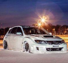 Subaru Impreza. in honor of the Polar Vortex that tormented us in 2013/2014...