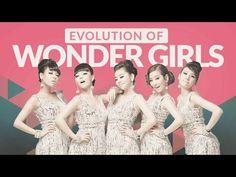 The Evolution of WONDER GIRLS (원더걸스) - Tribute to K-POP LEGENDS - YouTube