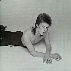 David Bowie - Outtake from the 'Diamond Dogs' album cover shoot - Photograph by…