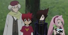 Tenkai Knights - Mr.White, Guren, Gen, and Beni