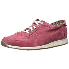 Hush Puppies Womens Chazy Dayo Suede Contrast Trim Fashion Sneakers