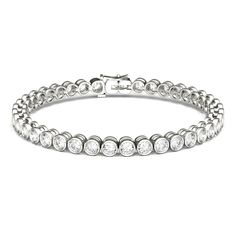 FANCIME White Gold Plated 925 Sterling Silver CZ Cubic Zirconia Created Blue Round Sapphire Tennis Bracelet For Women Girls, Length – Fine Jewelry & Collectibles Jewelry Gifts, Fine Jewelry, Jewelry Box, Jewellery, E Type, Adidas, Gold Hoop Earrings, Bangle Bracelets, Diamond Bracelets