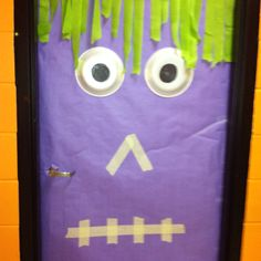 School door, at least for another week.  Then, i will need another pinterest idea.