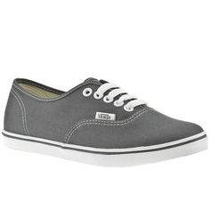 7821b5a81d3 Women s Dark Grey Vans Vans Authentic Lo Pro at Schuh. Classic retro style  plimsoll from