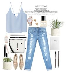 """""""All I Ever Wanted"""" by laslow on Polyvore featuring Allstate Floral, ICE London, Bebe, MANGO, Lulu Guinness, Gianvito Rossi, Marc Jacobs, Sloane Stationery, Urban Decay and MAC Cosmetics"""