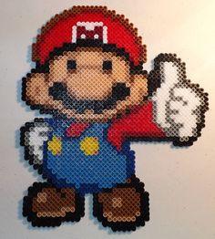 Mario Perler Bead Art by kamikazekeeg on deviantART