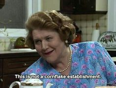 keeping up appearances memes British Tv Comedies, British Comedy, English Comedy, Appearance Quotes, Funny Sitcoms, Movie Subtitles, Keeping Up Appearances, British Humor, Uk Tv