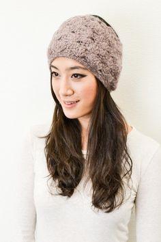 Crochet Metallic Detail headwrap