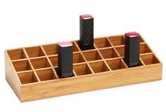 item3: Lucky Magazine Lipstick organizer: OCD challenge- order them by color/shade