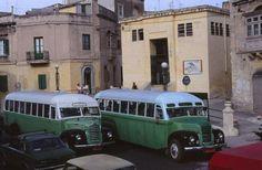 Two route buses in Triq il-Wied near Birkirkara FC Birkirkara, Malta. London Bus, London City, Volkswagen Bus, Vw Camper, Malta Bus, Vans Vw, Malta Valletta, Malta Gozo, New Bus