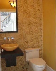 4x4 Honey Onyx Tumbled Mosaic Tiles