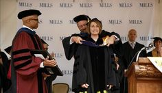 Nancy Pelosi @ Mills College