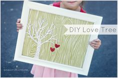 DIY Love Tree: Fun craft for Valentines!