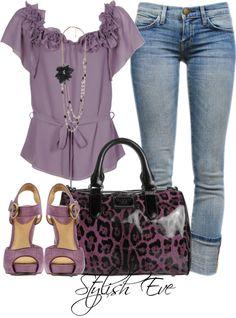 Purple date night