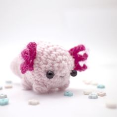 Axolotl plush from móhu