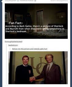 Sherlock fact, ha ha ha