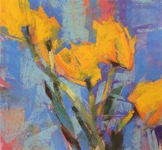 "Daily+Paintworks+-+""Tenacious+Tulips""+-+Original+Fine+Art+for+Sale+-+©+Jennifer+Evenhus"