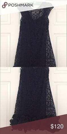 Dress Jessica Simpson blue dress can be worn to parties, weddings, After 5 Jessica Simpson Dresses