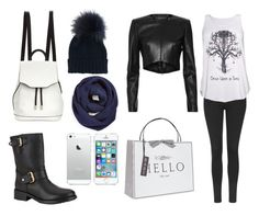 """""""Go out for walk with family to get presents for home"""" by mimikkoleva ❤ liked on Polyvore featuring Topshop, Barbara Bui, Once Upon a Time, Kurt Geiger, rag & bone, BP., Inverni and Vivid Wrap"""