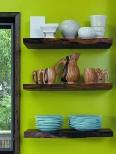 wood shelves @Tiffany Newton  @Zachary Presley