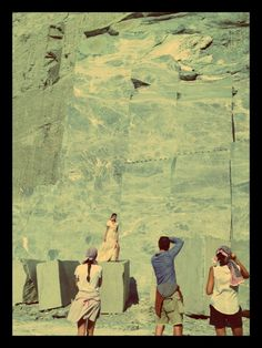 Tinos marble and Zeus+Δione photoshooting...  #zeusndione