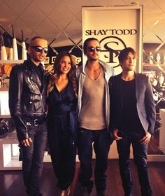 Bill & Tom Kaulitz at SHAY TODD 2014 Swimwear Resortwear Collection Preview-7/31/13