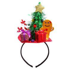 Christmas Scene Headband / Serre-tte dcor de Nol