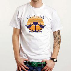 Catalina Wine Mixer  Custom White Tee T-Shirt