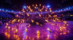 Olympic Opening Ceremony, The Olympic Cauldron