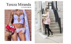 Porque todo dia é dia de se sentir linda e arrasar numa lingerie poderosa!👙❤ #terezamirandalingerie #terezamiranda #lingerie #luxo #cropped #tirinhas #renda #branco #preto #look #arrase #poderosa #modaintima