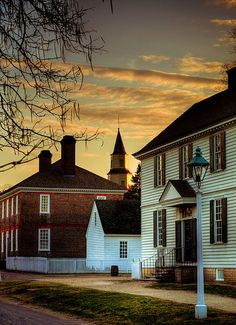 See Colonial Williamsburg, Virginia. Williamsburg Virginia, Colonial Williamsburg, Wonderful Places, Great Places, Beautiful Places, Beautiful Sunset, Beautiful Pictures, Oh The Places You'll Go, Places To Travel
