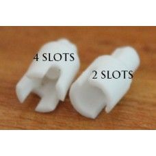 Ceramic with Four slots for DIY atomizer projects