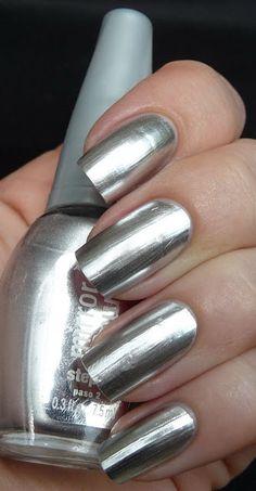 Mirror Nails (Maybelline Mirror Image)