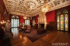 Витражи из цветного стекла в Мраморном дворце