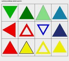 Lajittelutehtävät auttavat mm. havaitsemaan eroja samankaltaisissa kuvissa ja muodoissa sekä ymmärtämään että samaa tarkoittava asia voi näyttäytyä monella eri tavalla.