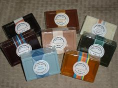 New packaging- Men's soap
