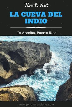 La Cueva del Indio, or Indian Cave, is a cave in Arecibo Puerto Rico with Taino Indian Petroglyphs and stunning cliffs. Pirates of the Caribbean and The Goonies were filmed here! Don't miss this cave while visiting Puerto Rico.