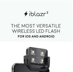 iblazr 2 : le flash externe pour smartphones revient sur Kickstarter - http://www.frandroid.com/0-android/kickstarter/291127_iblazr-2-flash-externe-smartphone-revient-kickstarter  #Kickstarter