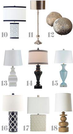 12 Perfect Farmhouse Style Lamps Farmhouse Love