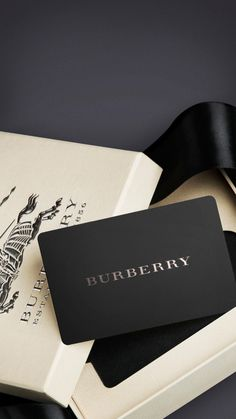 Presented in an elegant Burberry box, the Burberry gift card is redeemable in all US Burberry stores and Burberry.com.  Please note gift cards are not redeemable for cash and cannot be replaced if lost or stolen.  If you would like to verify your remaining balance please call 800 832 0282 and enter your gift card number.