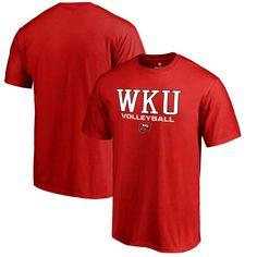 Western Kentucky Hilltoppers Fanatics Branded True Sport Volleyball Big & Tall T-Shirt - Red