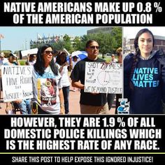 In this picture it is showing the protest of Native American issues that are being swept under the rug. There are asking for the weeding out of the bad cops that are not there to protect and serve their community. Stand Up For Yourself, How To Get Away, Rise Above, Proud Of Me, Sociology, Social Justice, American Made, American Indians, Current Events