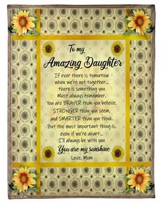 Love You Daughter Quotes, Mother Daughter Quotes, I Love My Daughter, My Children Quotes, Quotes For Kids, Mothers Day Cards, Mothers Love, Birthday Messages, Birthday Quotes