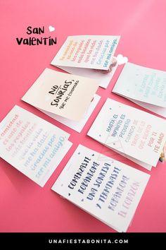 etiquetas diy dulces  #gratis #imprimibles #sanvalentín #valentines #valentinesday