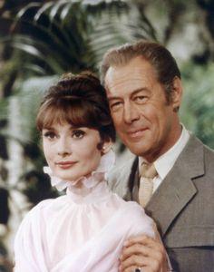 Audrey Hepburn: Audrey Hepburn and Rex Harrison on the set of 'My Fair Lady (Photo:  Sunset Boulevard/Corbis)
