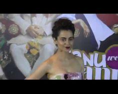 Actress Kangana Ranaut, who unveiled the title track of 'Tutak Tutak Tutiya'…