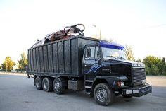 Sisu SR 260 Semi Trucks, Finland, Mercedes Benz, Scrap, Steel, Vehicles, Party, Car, Parties