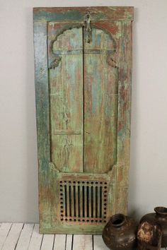 Restored Vintage Indian Hand Made Green Turquoise – FleaPop – Buy and sell home decor, furniture and antiques